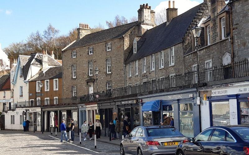 Terraced streetscape