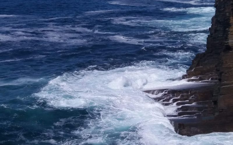 Roaring Sea at Yesnaby