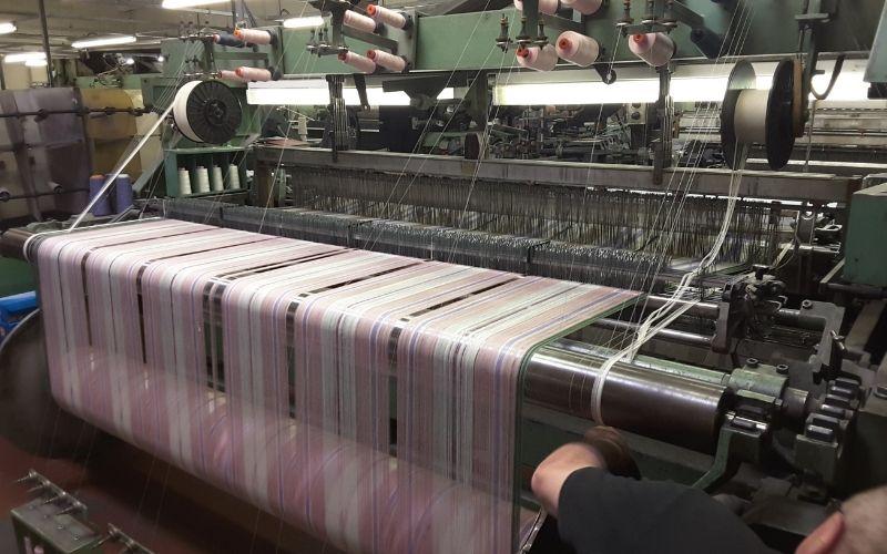Weaving Loom at Hawick Mill