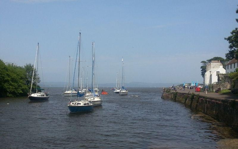 Boats at Cramond