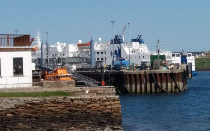 Shetland Ferry Stromness Harbour
