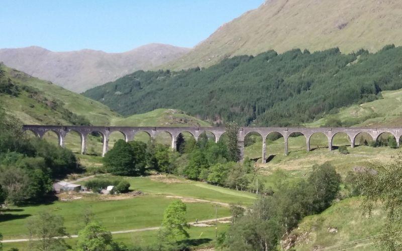 Glenfinnan Viaduct of Harry Potter Fame
