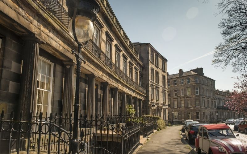 Moray Place, Westend