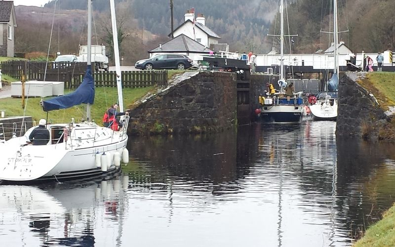 Canal Lock, Fort Augustus