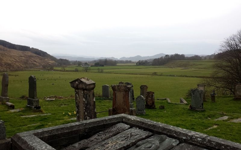 View over Kilmartin Glen, Home to Ancient Monuments