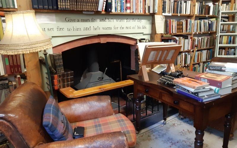 Bookshop in Wigham