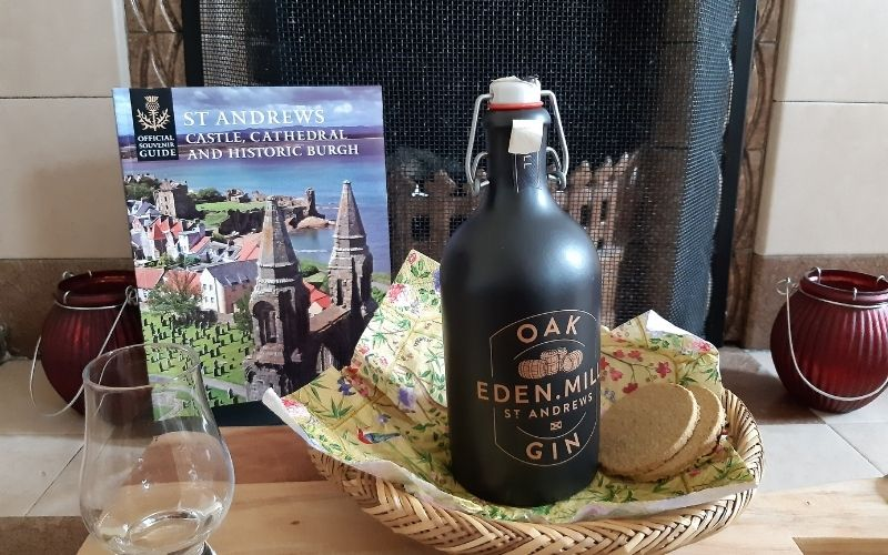 Oak Gin from Eden Mills Distillery by St Andrews