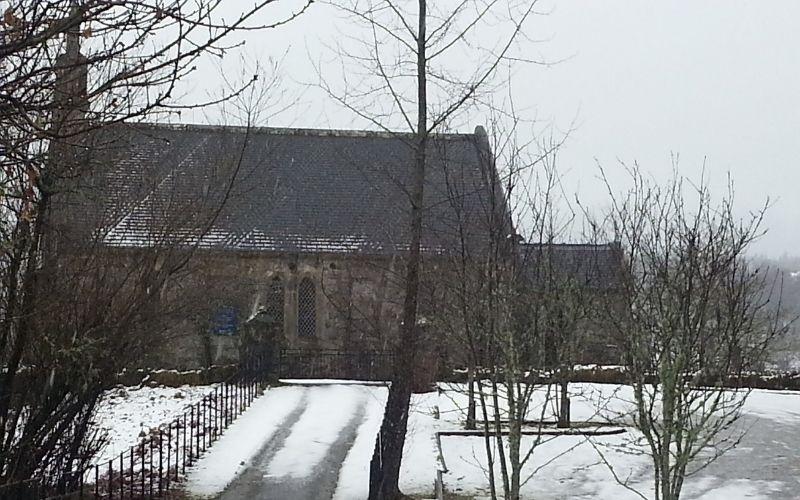 Trossachs Kirk in Winter
