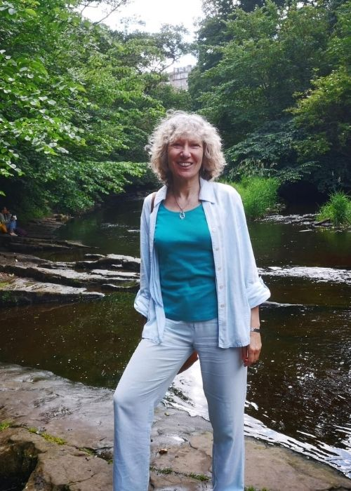 Ruth in water of Leith