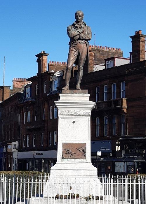 Robert Burns in Ayr