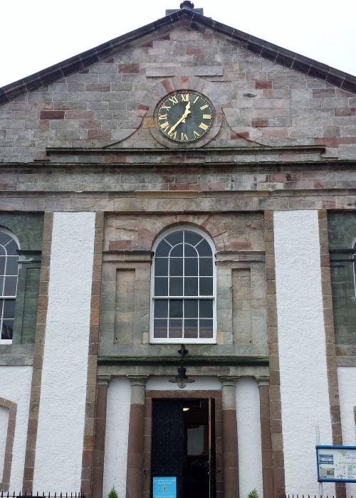 Inveraray church entrance